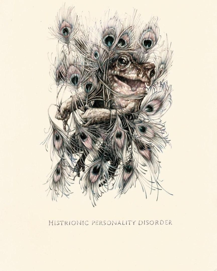 Иллюстрации к энциклопедии психических заболеваний