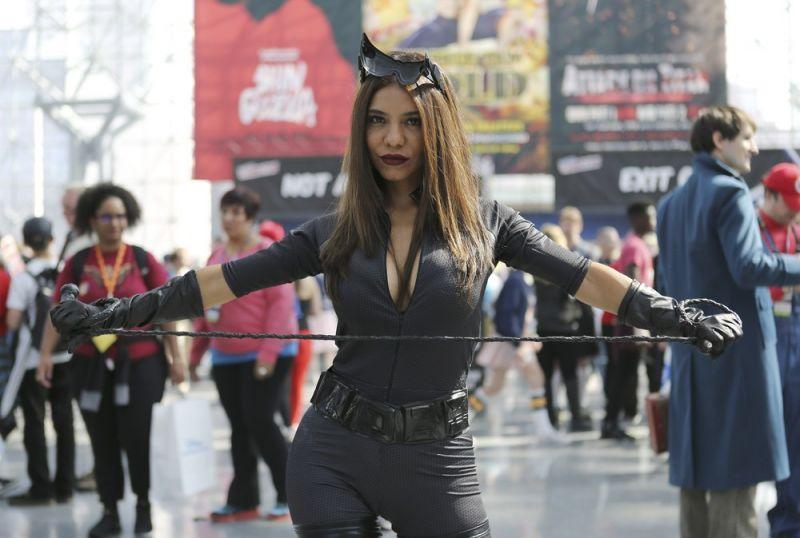 Косплеи на фестивале New York Comic Con 2016