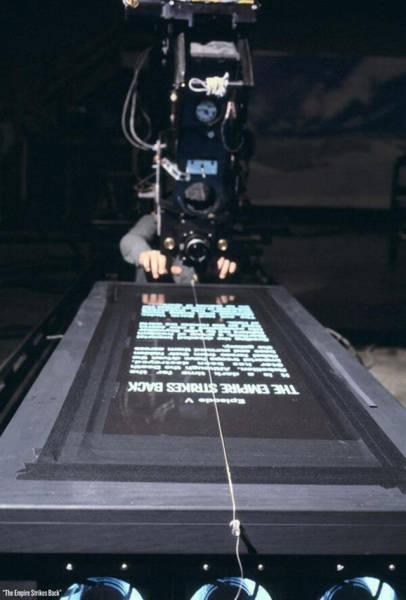 На съемочных площадках известных фильмов