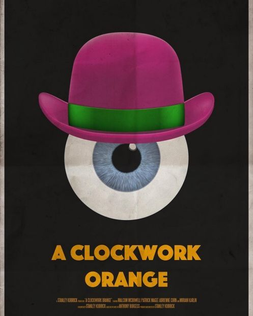 Австралийский художник рисует постер к известному фильму в день
