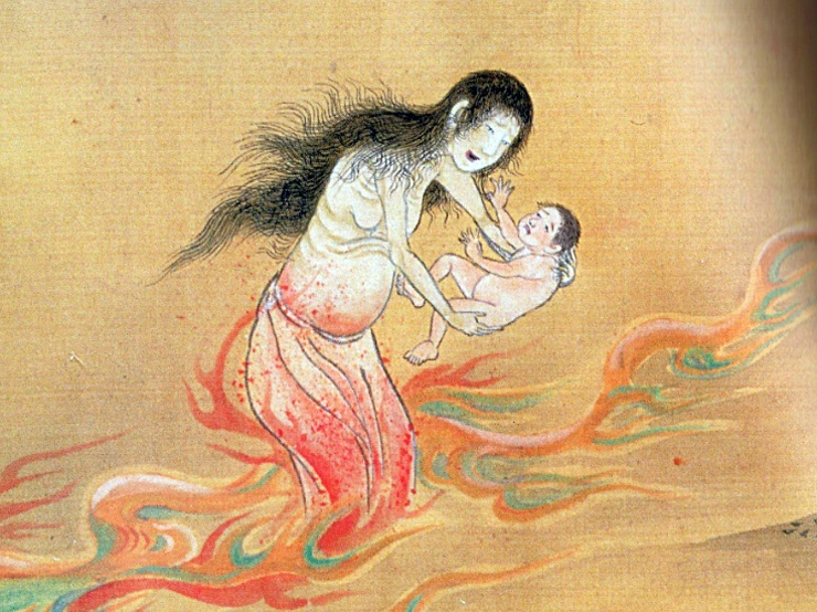 Интересные существа из японского фольклора