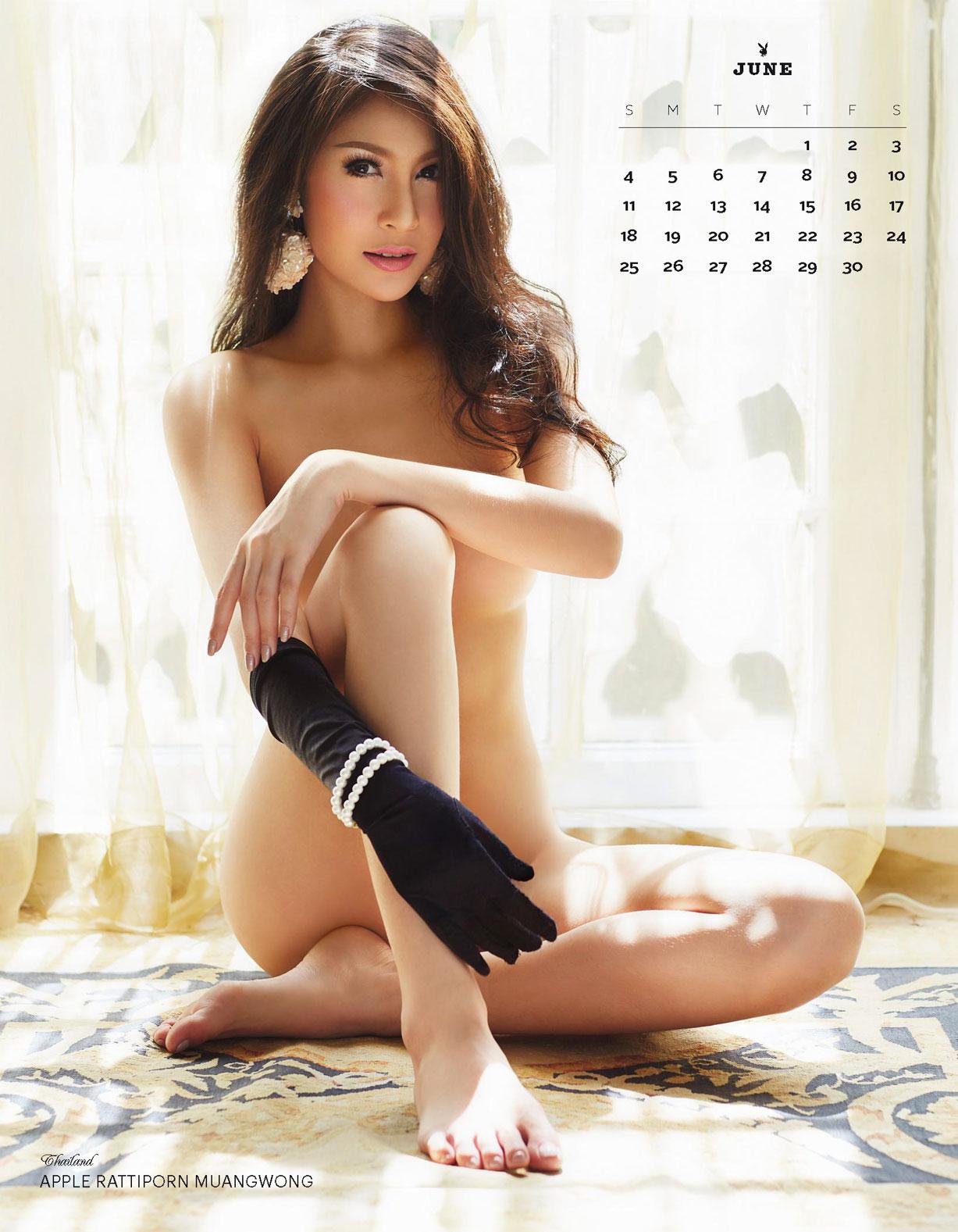Календарь Playboy на 2017 год