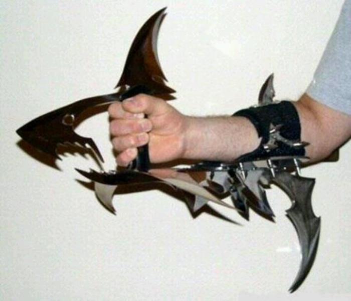 Странные ножи невероятного дизайна