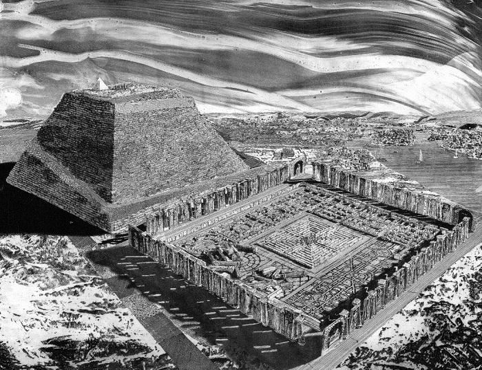 Лабиринты древности, которые могли привести в отчаяние любого