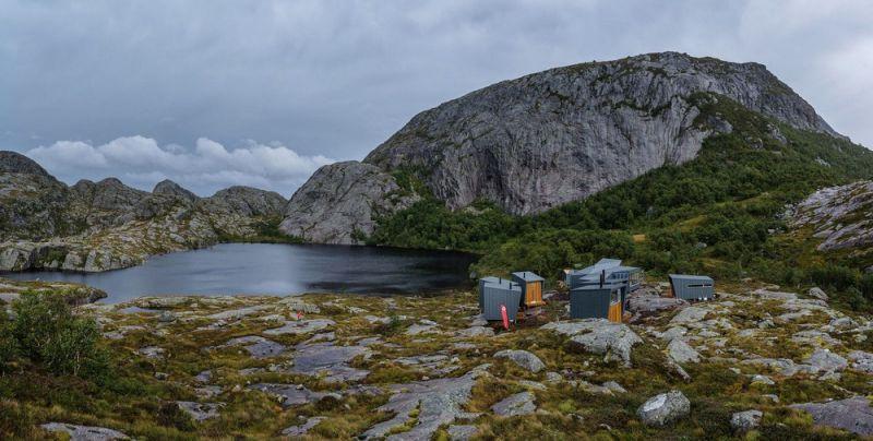 Домики для туристов в Норвегии