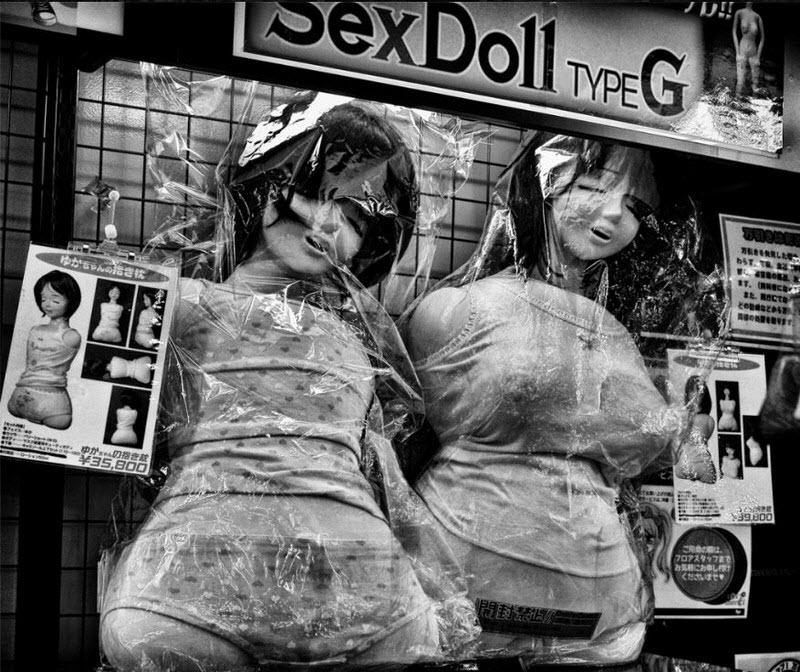 Странный мир фетиша на снимках MagLau