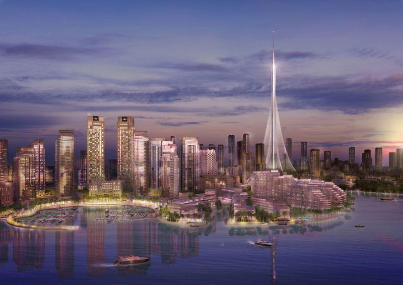 В Дубае начали строительство небоскреба рекордной высоты