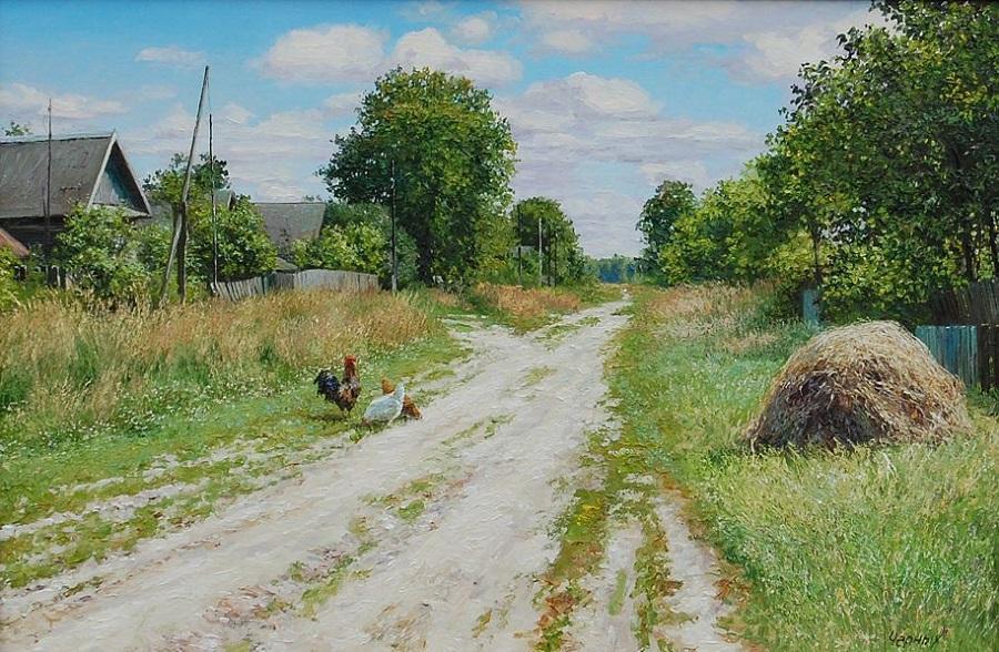 Деревенские пейзажи от Татьяны Черных