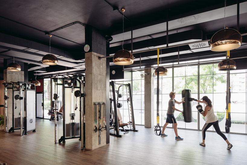 Фитнес и отдых в одном зале