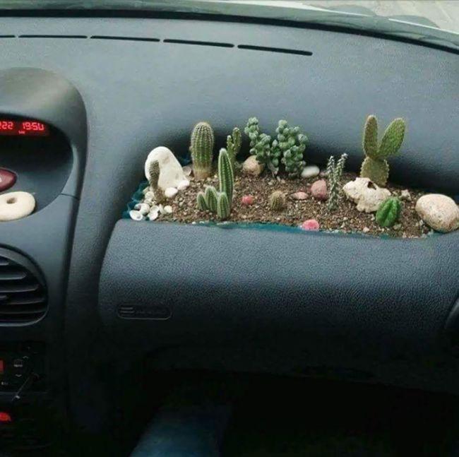 Подборка креатива от автомобилистов