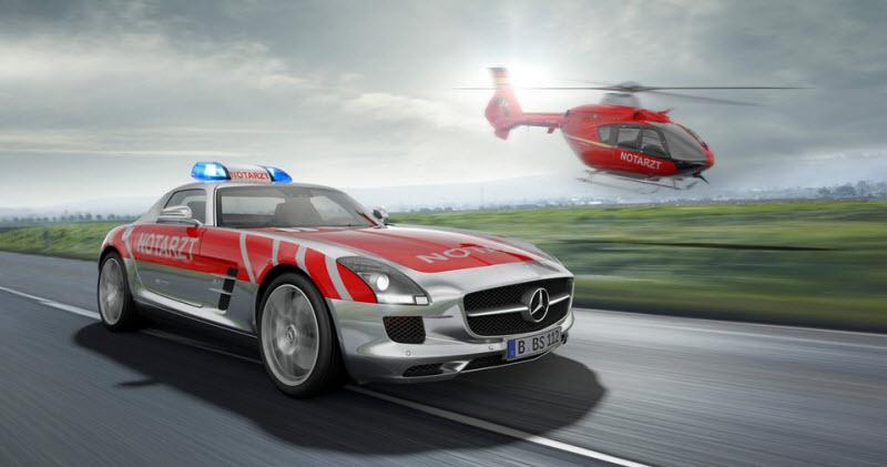 Самые необычные кареты скорой помощи