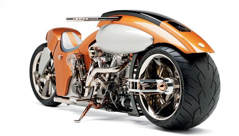 12 самых необычных и удивительных мотоциклов в мире