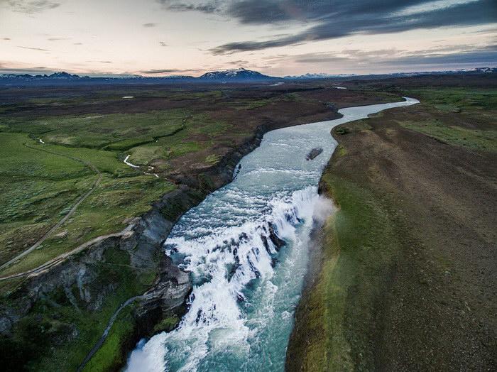 Исландия с высоты в фотографиях Якуба Поломски