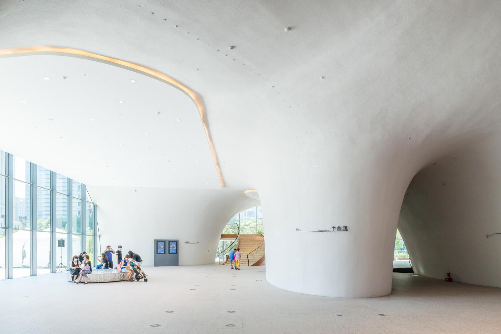 Органические формы оперного театра на Тайване
