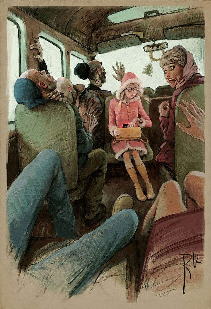 Весьма неоднозначные рисунки от Вальдемара Казака