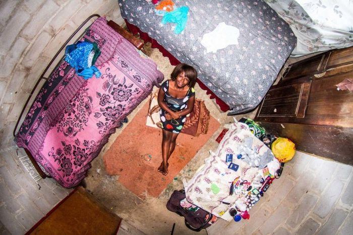 Комнаты жителей из разных уголков планеты
