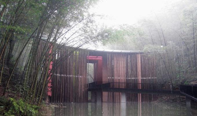 Удивительный парк для отдыха в Китае