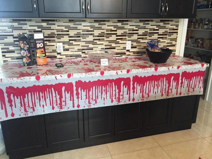 Вечеринка в стиле Ходячих мертвецов