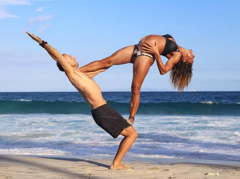 Экстремальная йога на девятом месяце