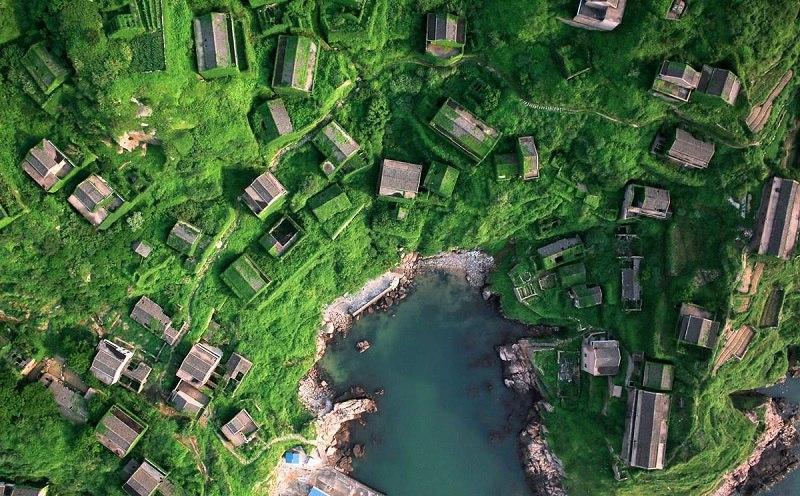 Рыбацкая деревня в Китае и схватка с природой