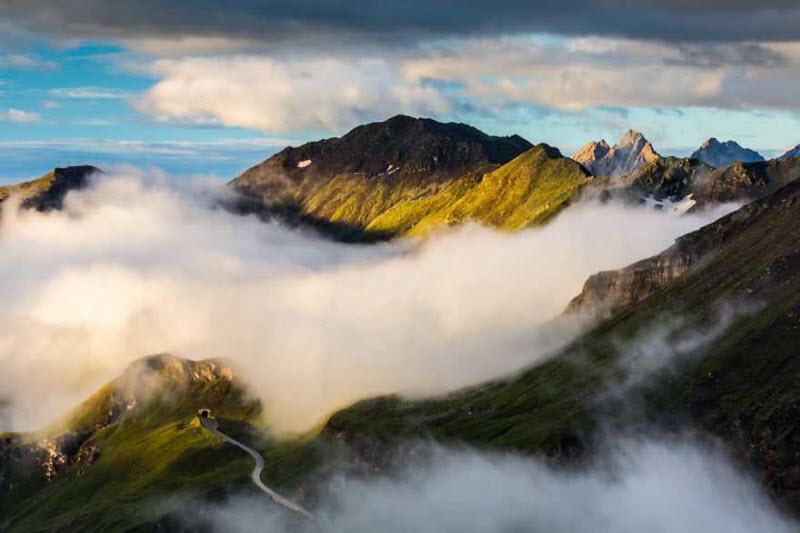 Самая красивая высокогорная дорога Европы