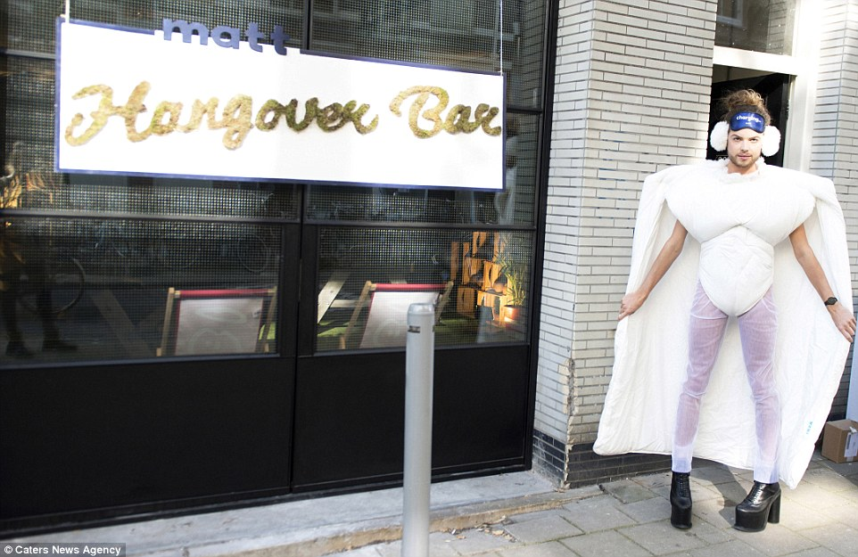 В Амстердаме открылся первый в мире антипохмельный бар