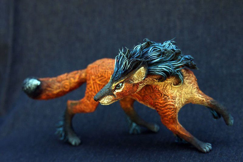 Сказочные животные от Евгения Хонтора