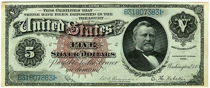 Старые и редкие долларовые купюры