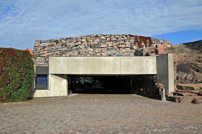 Храм Темппелиаукио - необычная церковь в Финляндии
