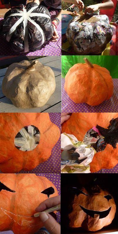 Жутковатые декорации для Хэллоуина