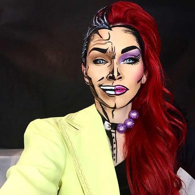 20 потрясающих способов макияжа на Хэллоуин