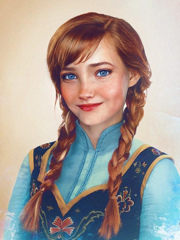 Финский художник превратил диснеевских персонажей в реальных людей