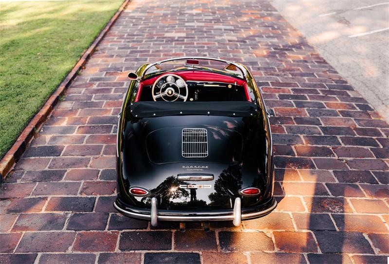 Шикарная Porsche 356A Carrera GS Speedster 1956 года