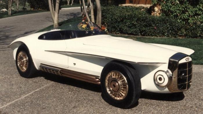 Уникальный ретро-родстер Mercer-Cobra 1965