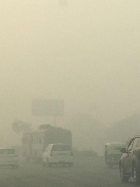 В Дели уровень загрязнения воздуха превысил норму в 42 раза от хлопушек