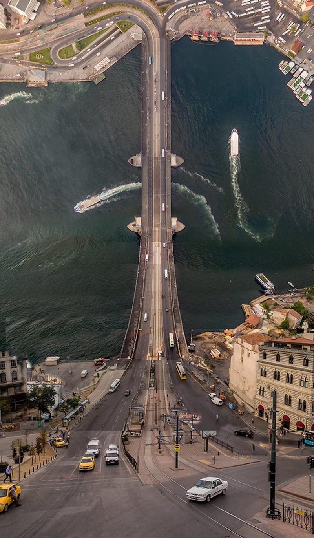 Космические панорамы Стамбула