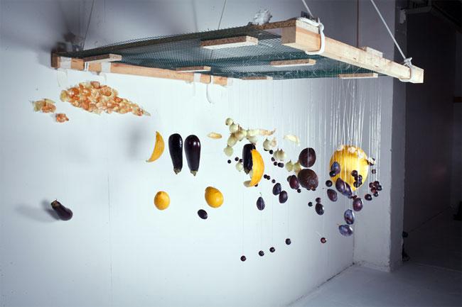 Потрясающие картины из продуктов, которые видны под определенным углом
