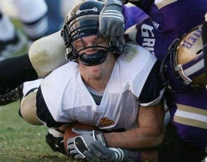 Прикольные фото спортивных моментов