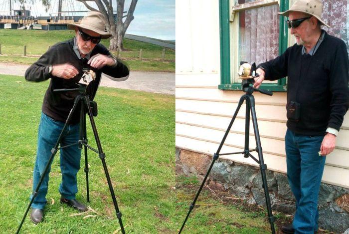 Австралиец собрал рабочую фотокамеру из картошки