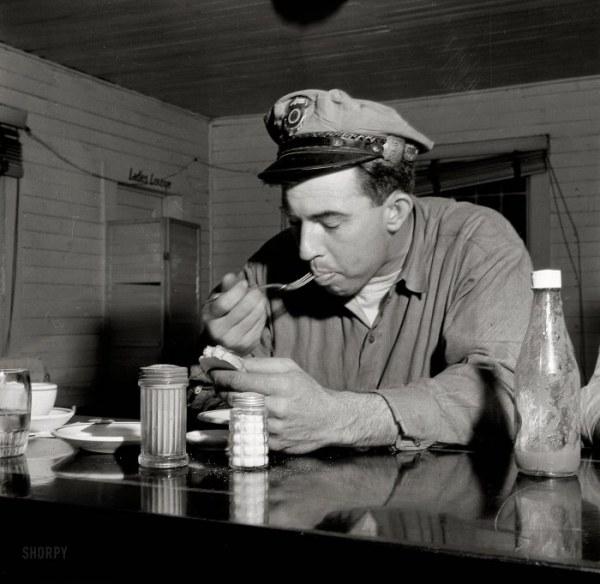 Американские кафе 1940-х годов