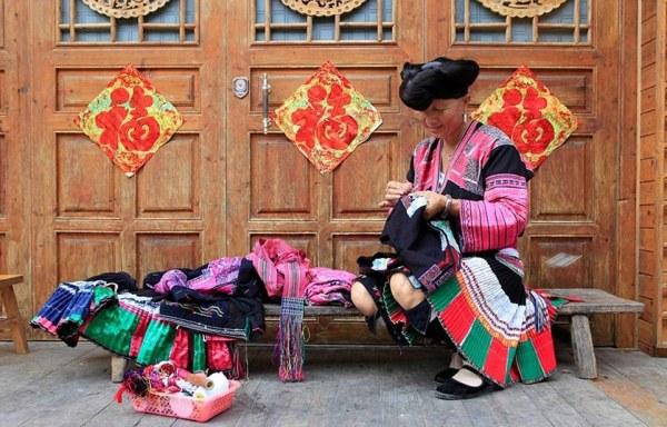 Длинные волосы девушек в Китае