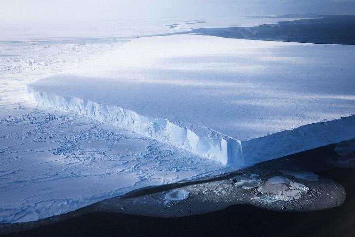 Антарктида с высоты