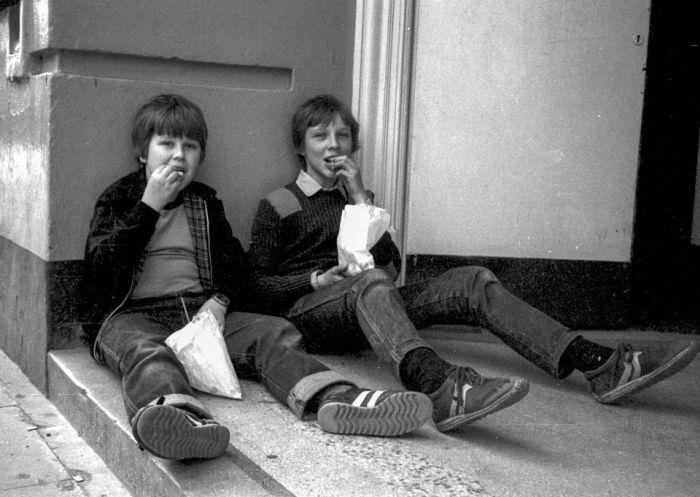 Британская молодежь 70-х - 80-х тогда и сейчас