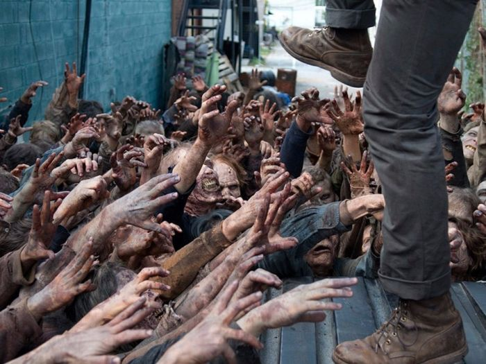 Интересные факты о зомби из сериала Ходячие мертвецы