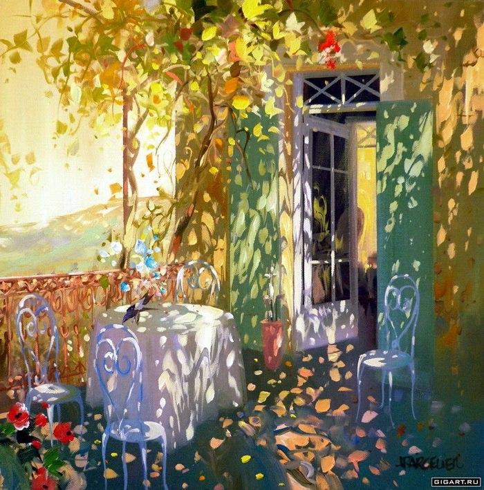 Солнечные картины от Лорана Парселье