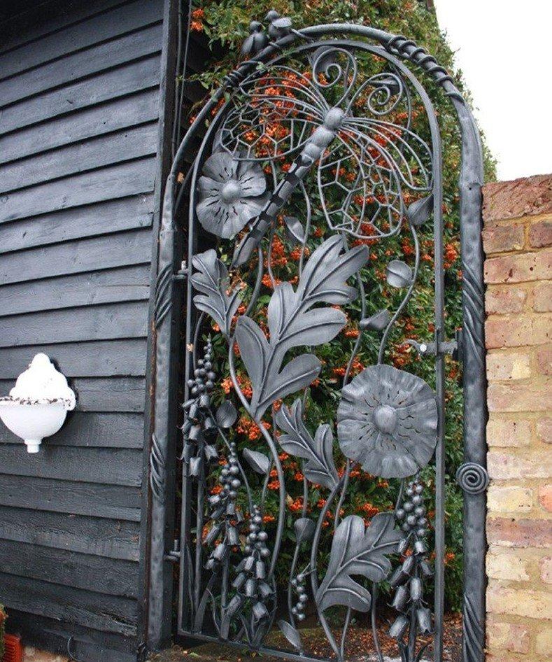 Креативные калитки и ворота