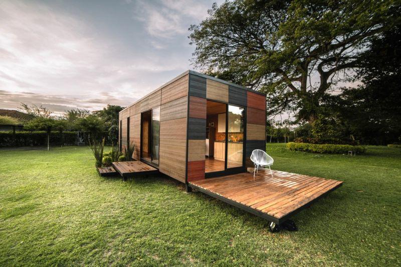 Модульный дом в Колумбии