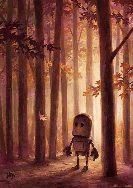 Роботы, которые ищут смысл жизни