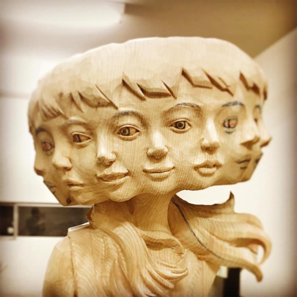 Глитч-арт: работы японского скульптора, от которых у вас закружится голова