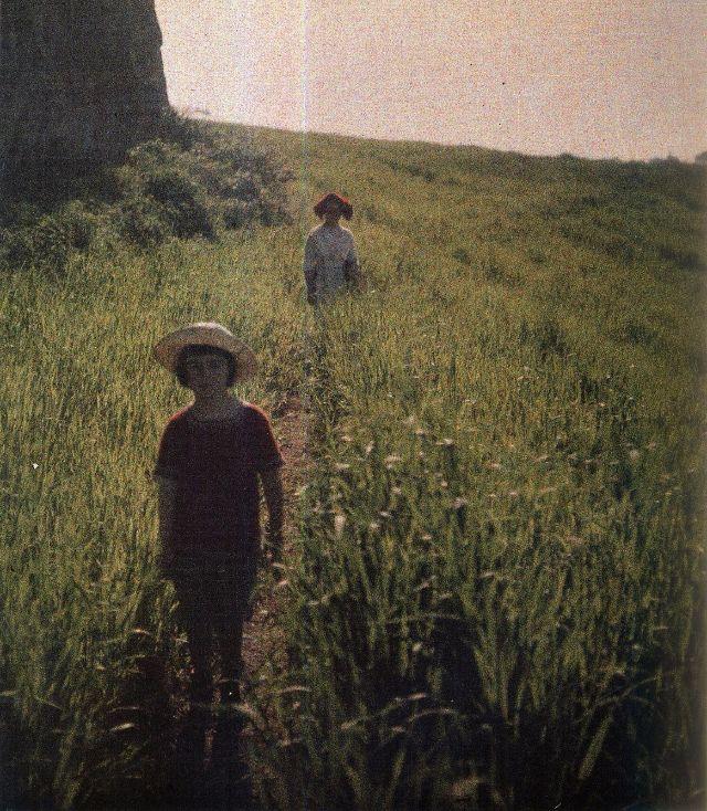 Цветные фотографии от Леонида Андреева, сделанные более 100 лет назад